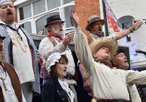 The Exmouth Shanty Men